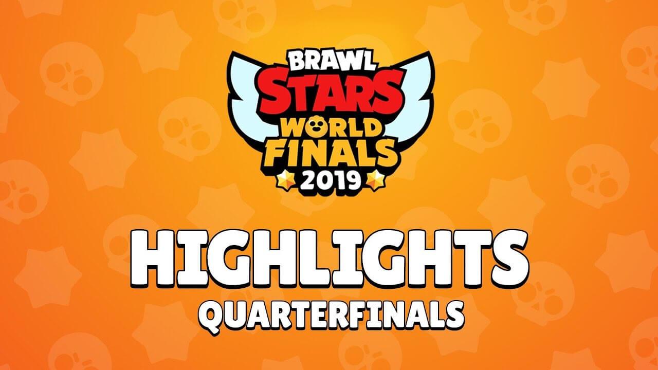 Brawl Stars World Finals 2019 – четвертьфинал Основные моменты