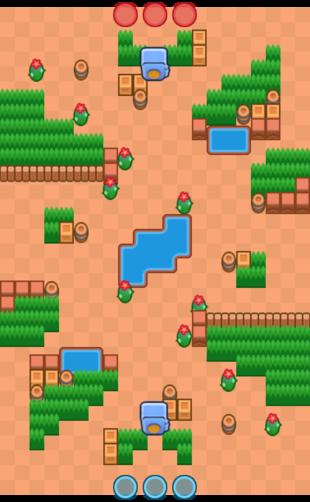 Карта Cactus Corridor – Heist