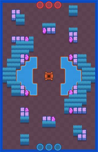 Карта Echo Chamber – Gem Grab Maps