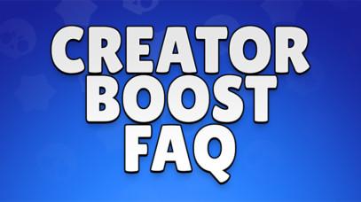 Creator Boost FAQ