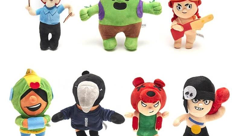 Мягкие плюшевые игрушки из Бравл Старс (купить с доставкой)