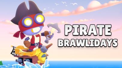 Большое обновление PIRATE BRAWLIDAYS!