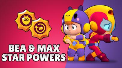Две звёздные силы BEA и MAX доступны!